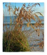 Sea Oats 1 Fleece Blanket