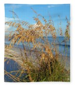 Sea Oats 2 Fleece Blanket