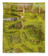 Sea Of Green Fleece Blanket