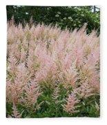 Sea Of Pink Fleece Blanket