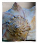 Sea Shell Fleece Blanket