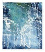 Sea Spray Fleece Blanket