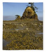 Sea Stack Fleece Blanket