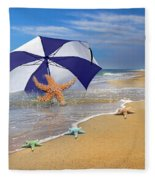 Sea Star Celebration  Fleece Blanket