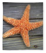 Sea Star On Deck 2 Fleece Blanket