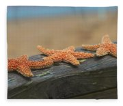 Sea Star Trio Fleece Blanket