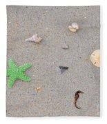 Sea Swag - Green Fleece Blanket