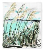 Sea View Fleece Blanket