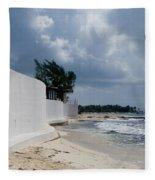 Sea Wall Fleece Blanket