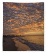 Seabright Sunrise Fleece Blanket