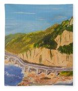 Seacliff Bridge Fleece Blanket