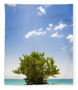 Seagrape Tree Fleece Blanket