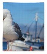 Seagull 3 Fleece Blanket