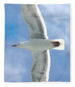 Seagull 3 Fleece Blanket