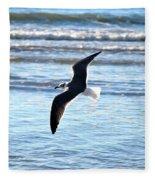 Seagull Flight Fleece Blanket