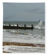 Seagull Groyne Fleece Blanket