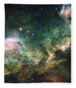 Seagull Nebula Fleece Blanket