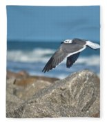 Seagull Parallel Fleece Blanket
