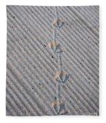Seagull Tracks Fleece Blanket