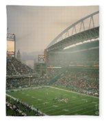 Seahawks Stadium 2 Fleece Blanket