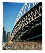 Seahawks Stadium 5 Fleece Blanket