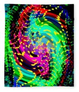 Seahorse Phone Case Art Colorful Dynamic Abstract Geometric Design By Carole Spandau 130  Cbs Art Fleece Blanket