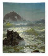 Seal Rock California Fleece Blanket