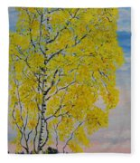 Seascape From Baltic Sea Fleece Blanket