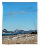 Seascape - Panorama Fleece Blanket