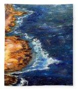 Seascape Series 5 Fleece Blanket
