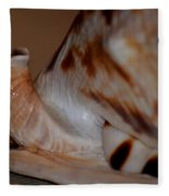 Seashell Abstract 1 Fleece Blanket
