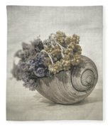 Seashell No.2 Fleece Blanket