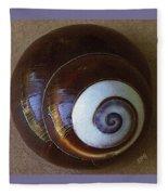 Seashells Spectacular No 26 Fleece Blanket