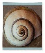 Seashells Spectacular No 34 Fleece Blanket