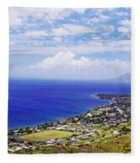 Seaside Resort Fleece Blanket
