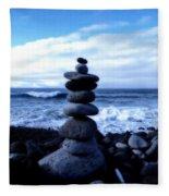 Seaside Serenity Fleece Blanket
