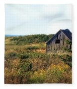 Seaside Shed - September Fleece Blanket