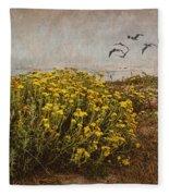 Seaside Sun Fleece Blanket