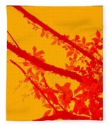 Season Of Colours Fleece Blanket
