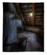 Seat In Darkenss Fleece Blanket