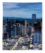 Seattle City Fleece Blanket