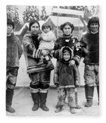 Seattle Eskimo Family Fleece Blanket
