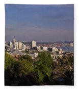 Seattle From Kerry Park Fleece Blanket