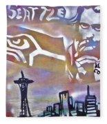Seattle Icons Fleece Blanket