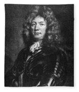 Sebastien De Vauban (1633-1707) Fleece Blanket