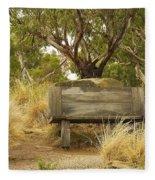 Secluded Bench Fleece Blanket