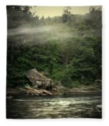 Seclusion On The Trinity Fleece Blanket