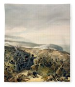 Second Charge Of The Guards Fleece Blanket
