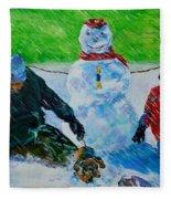 Second Snow Fleece Blanket