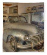 Second World War Car Fleece Blanket